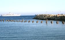 Free Broken Pier Stock Photography - 5201782