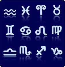 Free Zodiac Icons Stock Photos - 5201793