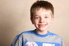 Free Friendly Boy Stock Photography - 5202042