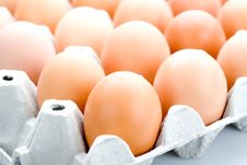 Free Brown Eggs, Isolated Royalty Free Stock Images - 5202229