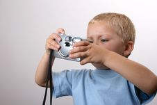 Free Young Photographer Royalty Free Stock Photos - 5202238