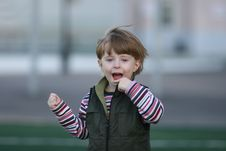 Free The Cheerful Kid Stock Images - 5202554