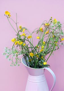 Free Hand Picked Wild Flowers From The Meadow Stock Photos - 5202883