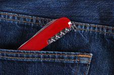 Pocket Knife. Stock Image