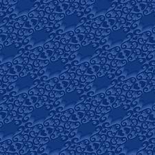 Free Seamless Blue Pattern Stock Image - 5203971