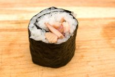 Free Sushi Roll Royalty Free Stock Photo - 5204205