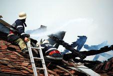 Free Fireman Stock Image - 5204551