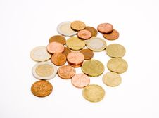 Free Unsorted Coins Stock Image - 5205011