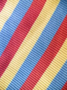 Free Colorful Striped Fabric Stock Image - 5205031