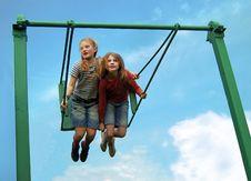 Free Sky Swing Royalty Free Stock Photo - 5205155