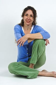 Free Attractive Middle-aged Woman. Royalty Free Stock Photography - 5205457