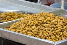 Free Peanuts For Sale Stock Image - 5205481