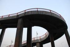 The Curving Footbridge
