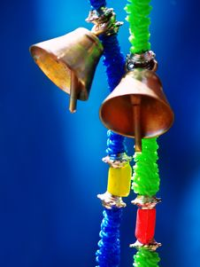 Free Hanging Prayer Bells Royalty Free Stock Photos - 5205828