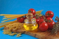 Free Pastes And Tomatos Stock Images - 5206194