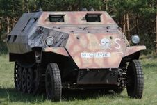 Free Armored Personnel Carrier Royalty Free Stock Photo - 5206415