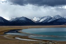 Free The Lake Namtso Stock Photography - 5206532