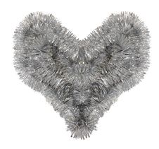 Free Shaggy Silver Heart Stock Images - 5206554