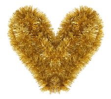 Free Shaggy Golden Heart Stock Photos - 5206573
