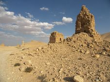 Free Palmyra, Syria Stock Photography - 5206632