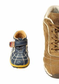 Free Shoes From Top Stock Images - 5206694
