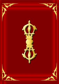 Free Symbol Series - Vajra Royalty Free Stock Photo - 5207125