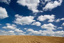 Free Ploughed Field. Stock Photography - 5207262