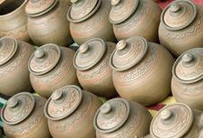 Free Clay Pots Stock Photo - 5207790