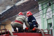 Free Fireman Stock Image - 5207881