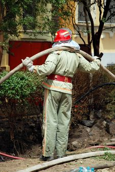 Free Fireman Stock Photo - 5208210