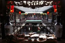 Free China Ancient House Royalty Free Stock Photos - 5208258