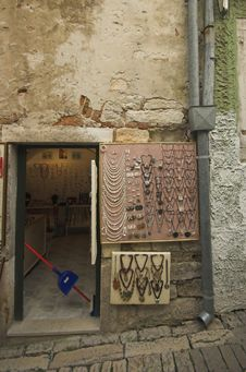 Free Back Street In Rovinj Stock Photography - 5208302