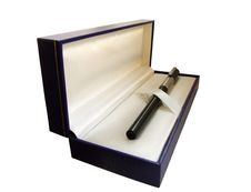 Free Box With Pen Inside Royalty Free Stock Images - 5208549