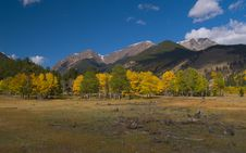 Free Three Mountains In Autumn Royalty Free Stock Image - 5209556