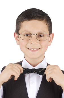 Free Portrait Of A Young Businessman Stock Photos - 5209633
