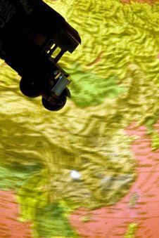 Free Map Terrain Stock Photography - 5209682