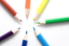 Free Different Color Pencils Stock Image - 5209831