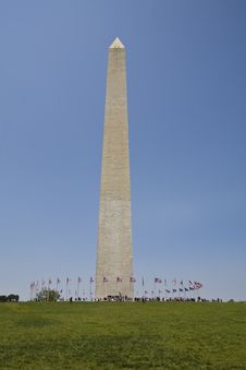 Free Washington Monument Royalty Free Stock Photos - 5209948