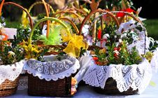 Free Easter Basket Stock Images - 52082824