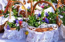 Free Easter Basket Stock Photos - 52082833