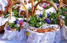Free Easter Basket Stock Photos - 52082833
