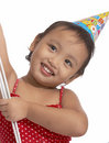 Free Girl With Party Hat Stock Photography - 5215572