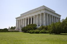 Lincoln Monument Stock Photography