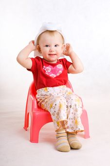 Free Happy Naughty Child Stock Photography - 5210132