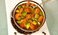 Free Vegetable Soup Stock Photography - 5210162