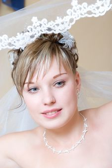 Free Look Of The Bride Stock Photo - 5210260