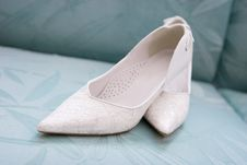 Free White Shoes Royalty Free Stock Photo - 5210315