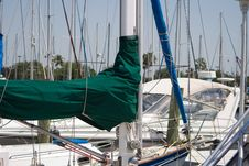 Free Sailboat Masts And Booms V2 Stock Photography - 5210402