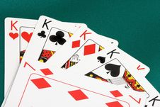 Free Playing Cards Close Up Royalty Free Stock Photo - 5211045