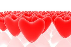 Free Red Hearts Stock Photo - 5211320